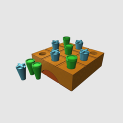Free 3D print files Morpion game, Boxplyer