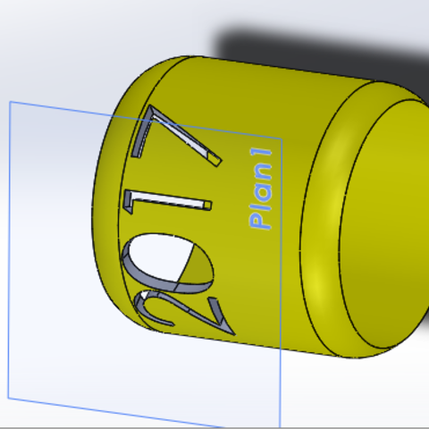 Download STL file Ring 2017 • Template to 3D print, Aldbg74