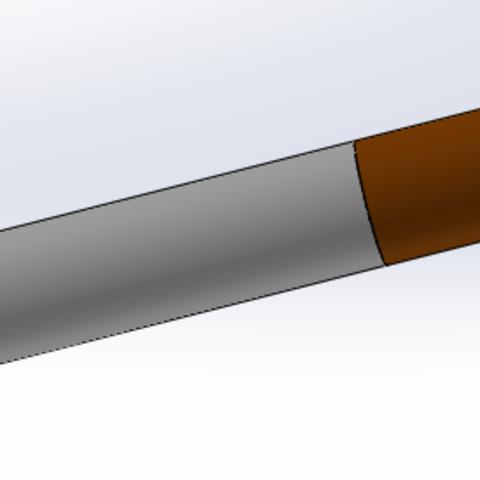 Download STL file Fake cigarette • Object to 3D print, Aldbg74