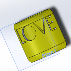 Bague LOVE.PNG Download STL file LOVE ring • Template to 3D print, Aldbg74