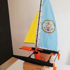 IMG_20180425_211043.jpg Télécharger fichier STL RC Catamaran • Objet pour imprimante 3D, Nizarnizz