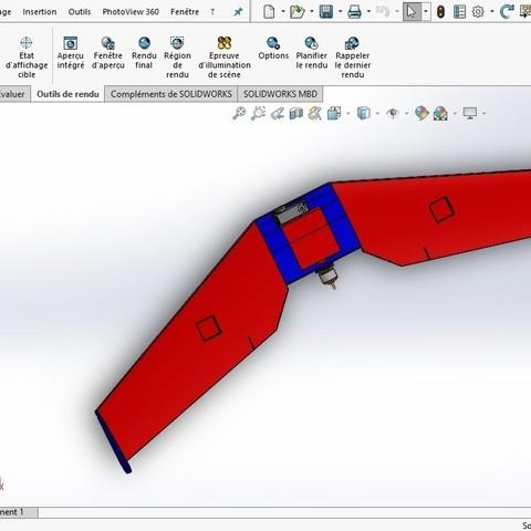 Sans titre.jpg Download STL file Flying Wings RC • 3D print template, Nizarnizz