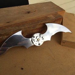STL file Working Batarang, Boris-van-Galvin