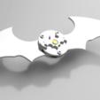 STL file Working Batarang, Boris-van-Galvin