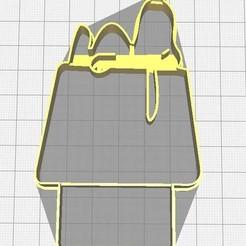 Descargar modelos 3D Cortador de galletas Snoopy, Avallejo
