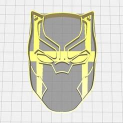 Descargar modelos 3D Cortador de Galletas Pantera Negra, Avallejo