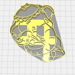 Download STL file Dumbo Cookie Cutter and Your Mom, Avallejo