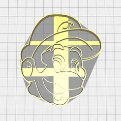Descargar diseños 3D Cortador de Luigi, Avallejo