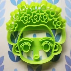 Descargar modelo 3D Cortador de galletas Frida, Avallejo