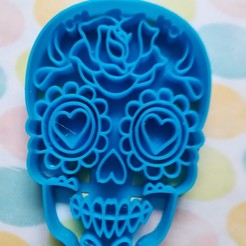 Download 3D printer files Cortador de galletas Catrina, Avallejo