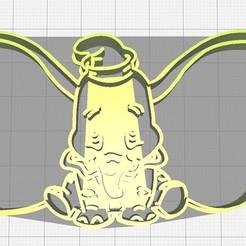 Descargar STL Cortador de galletas Dumbo, Avallejo