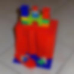 Free stl file Duplo-compatible Cliff, jvanier
