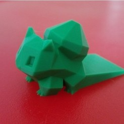 Download free 3D printer designs Bulbasaur door stop, jvanier