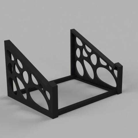 Free 3D print files  Voronoi Laptop Stand, jvanier