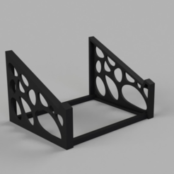 Capture d'écran 2017-02-22 à 15.32.24.png Download free STL file  Voronoi Laptop Stand • Template to 3D print, jvanier