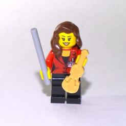 archivos stl violín de Lego gratis, jvanier