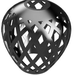 aba jour.png Download STL file Lamp Shade Chandelier • 3D print template, francknos