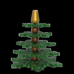 Tree1.png Download STL file Christmas tree • 3D printer design, francknos