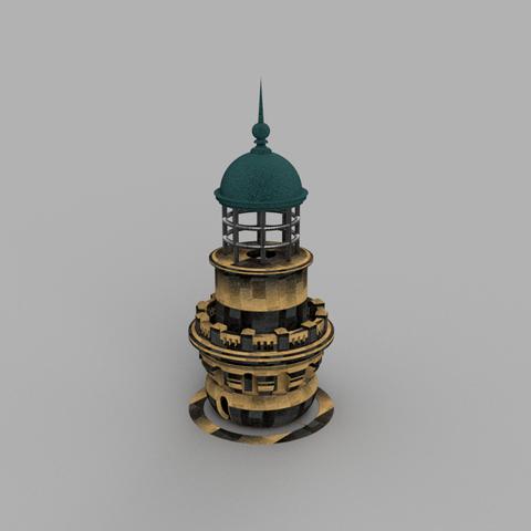 Download 3D model Lighthouse of the Virgin Island, francknos