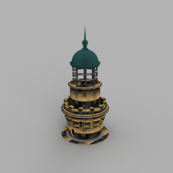 Modelos 3D para imprimir Virgin Island Lighthouse, francknos