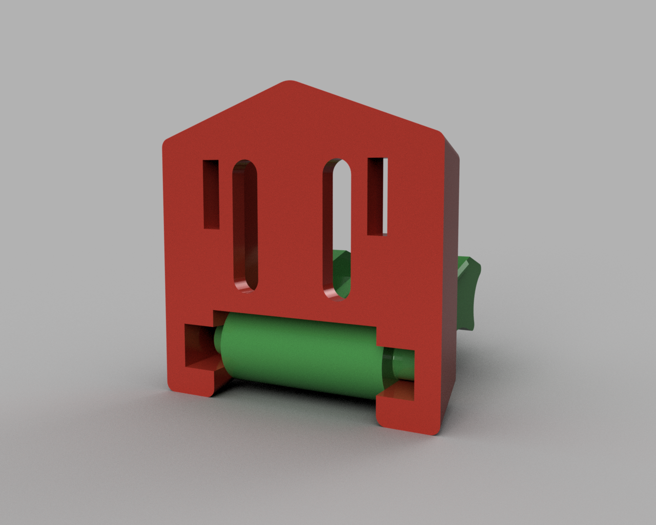 support umbird under.png Download STL file Humminbird 525 echo sounder • Template to 3D print, francknos