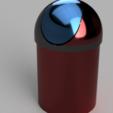 Modelos 3D cubo de basura, francknos