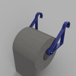 Modelos 3D para imprimir titular de papel higiénico, francknos