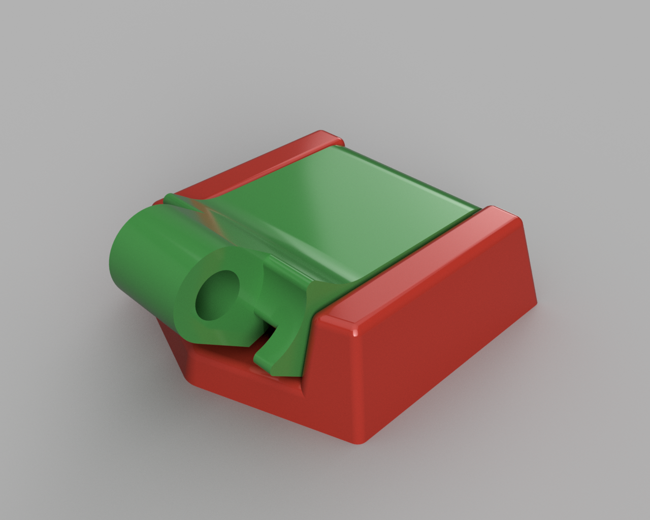 support umbird.png Download STL file Humminbird 525 echo sounder • Template to 3D print, francknos