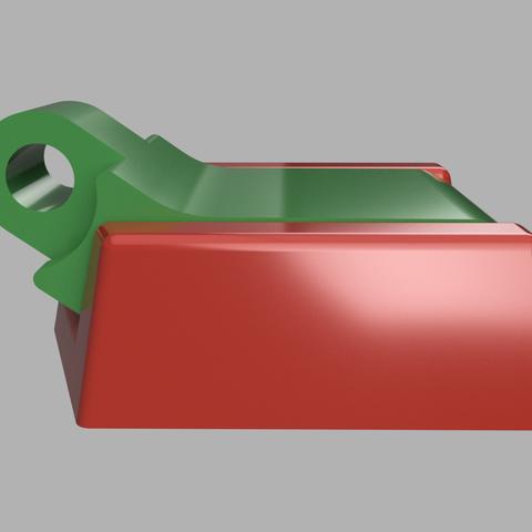 support umbird coté.png Download STL file Humminbird 525 echo sounder • Template to 3D print, francknos