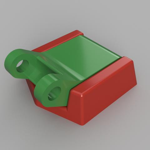support umbird2.png Download STL file Humminbird 525 echo sounder • Template to 3D print, francknos