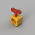 Download STL file Nut cracker • Template to 3D print, francknos