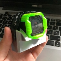 Télécharger modèle 3D Support gopro session 5 pour aile volante S800 / Gopro mount , FaF