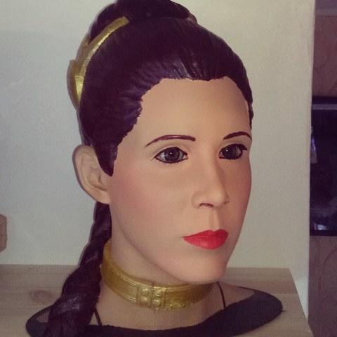Free 3D print files Slave Leia, themarsian74