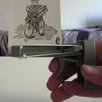 Download free 3D printer designs Rubber Band Card Launcher, PentlandDesigns
