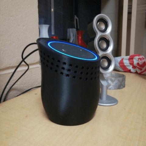 Free stl file Amazon Echo Dot Dock, PentlandDesigns