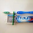 1.png Download free STL file Minimalist Toothbrush Travel Kit • 3D print object, PentlandDesigns