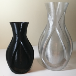 Free 3D printer files Modern Vase, PentlandDesigns