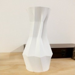 Download free 3D printer designs Origami Vase, PentlandDesigns