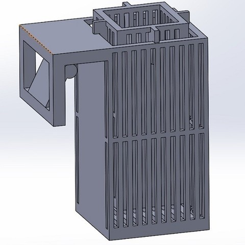Download free 3D print files Frozen food dispenser for aquariums, Rick60