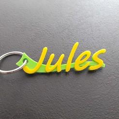 20200910_154255[1].jpg Télécharger fichier STL porte clef prénoms jules • Modèle imprimable en 3D, siktrip