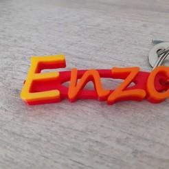 20200910_114523[1].jpg Télécharger fichier STL porte-clés prénoms enzo • Objet pour impression 3D, siktrip