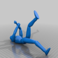 Download free STL file climbing man • 3D print design, delukart