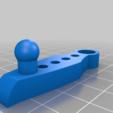 Download free STL file wanhao duplicator 4s door latch • 3D printing template, delukart
