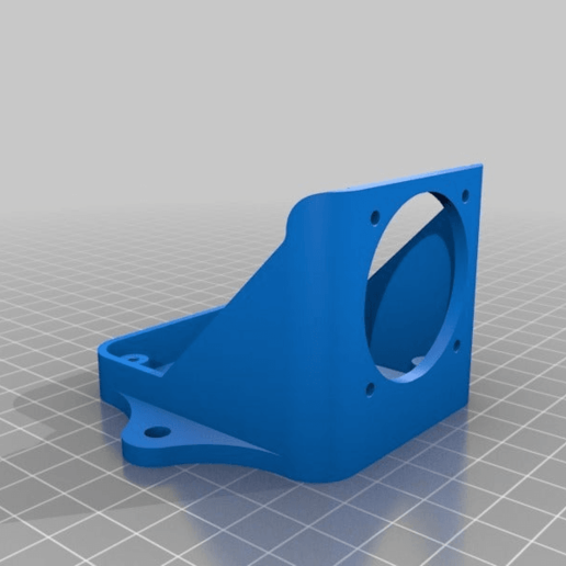 Download free STL file mosfet cooling base (for 20x20 extrusion) • 3D print design, delukart