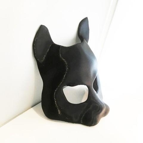 IMG_1340 copy copy.jpg Download free STL file Street Cat Mask • 3D printer template, delukart