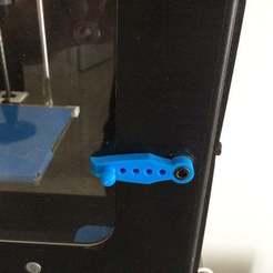 252.JPG Télécharger fichier STL gratuit duplicateur wanhao 4s loquet de porte • Design pour impression 3D, delukart