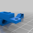 Download free STL file ((updated)) Hi-flo directional cooling duct for duplicator 4s ((might work with other open face printers)) • Template to 3D print, delukart