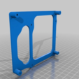 """Download free STL file east3D Gecko duetwifi mount and 5"""" panel-due housing • Object to 3D print, delukart"""