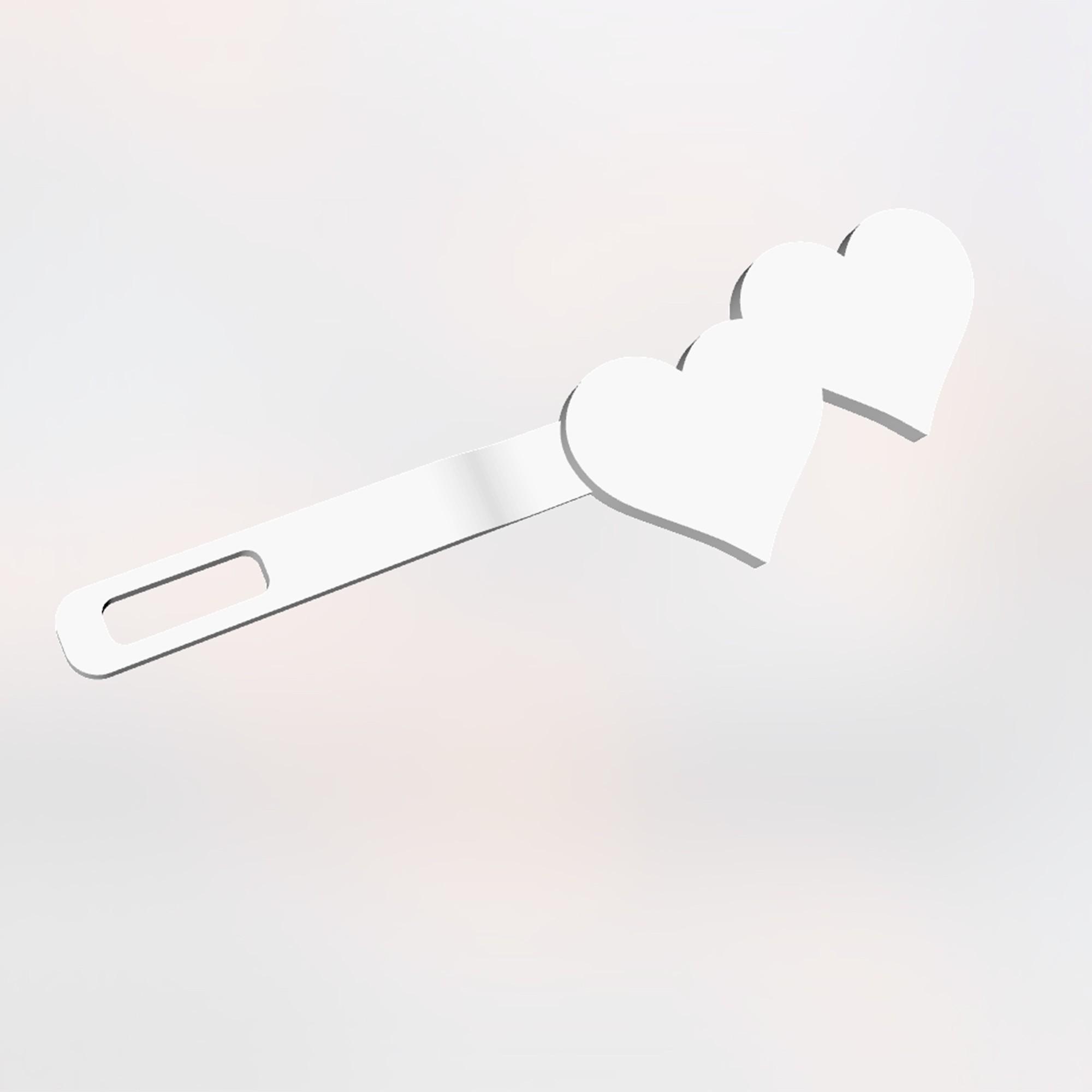 Screen Shot 2017-08-18 at 12.05.00 PM.jpg Download free STL file Two Hearts Hair Clip • 3D print design, delukart