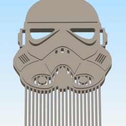 Simplify3D (Licensed to mark rattelade) 6_10_2020 10_40_27 AM.png Download STL file 3D printable cosplay hair and beard comb collection • Design to 3D print, delukart